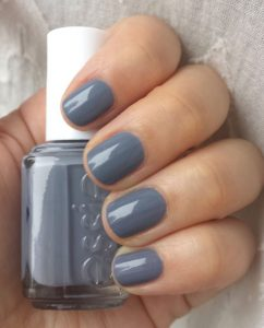 Grey nail polish faiza beauty cream