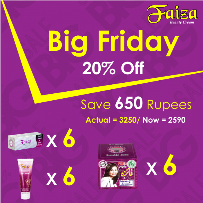 Friday Deal-1 Faiza Beauty Cream Products