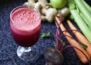 beetroot and carrot detox drinks