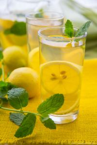 Lemon And Mint Detox Drinks