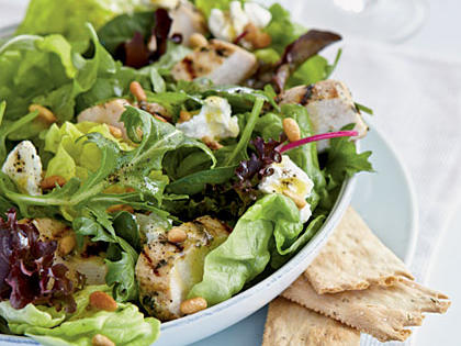 lemon chicken thyme salad faiza beauty cream