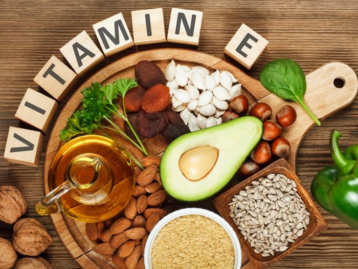 Vitamin E as anti-oxidants