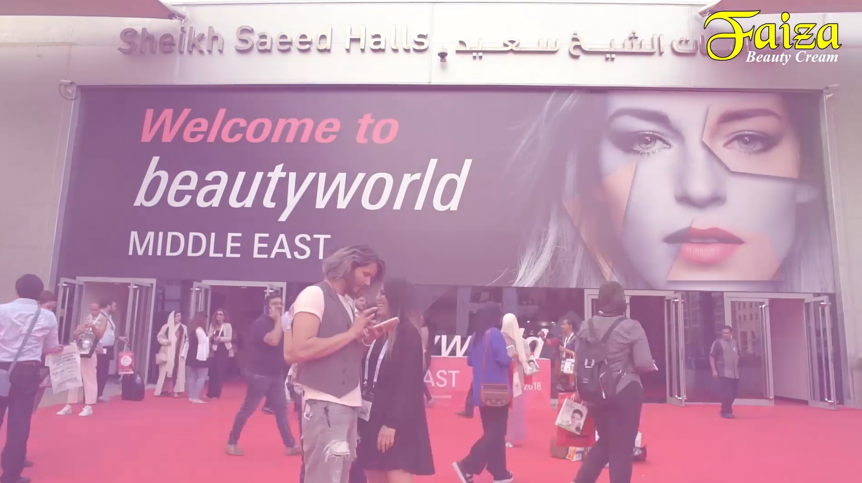 Faiza Beauty Cream @ Beauty World 2018, Dubai