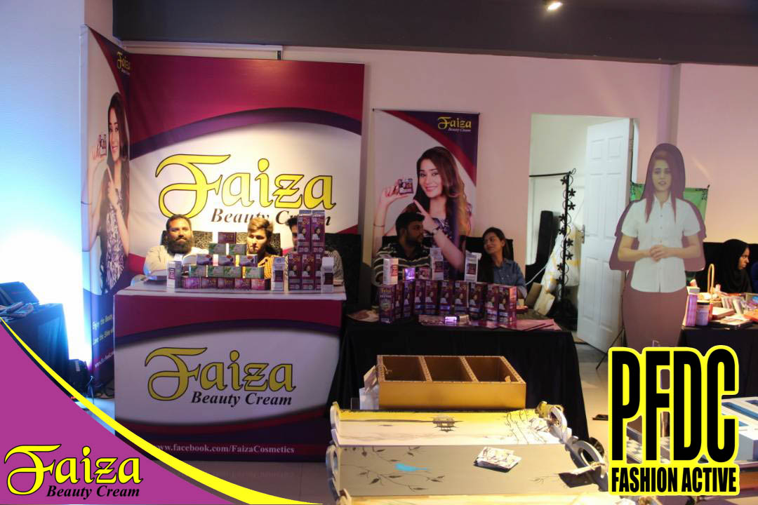 Faiza Cosmetics @ PFDC Fashion Active — PFDC Mall One Lahore.